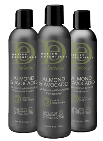 Design Essentials Almond & Avocado.